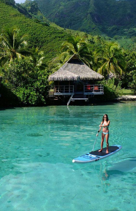 SUP Moorea Lagoon Resort and Spa in Tahiti