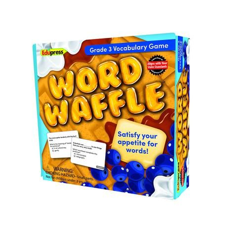 WORD WAFFLE GAME GR 3