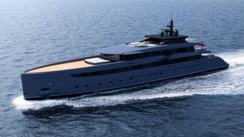 Yacht concept F65 by Marco Ferrari is a thing of beauty