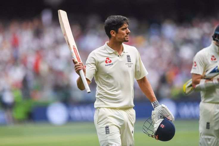 Glad we got to witness first hand Alastair Cook smash a new world record for carrying his bat at 266