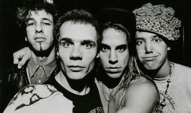 Hillel Slovak, Flea, Antoine the Swan, Jack Irons