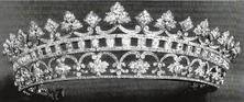 Strawberry Leaf Ruby and Diamond Coronet, it was a favorite of Queen Victoria.  Current whereabouts are unknown. Will post close up in color so you can see the rubies.
