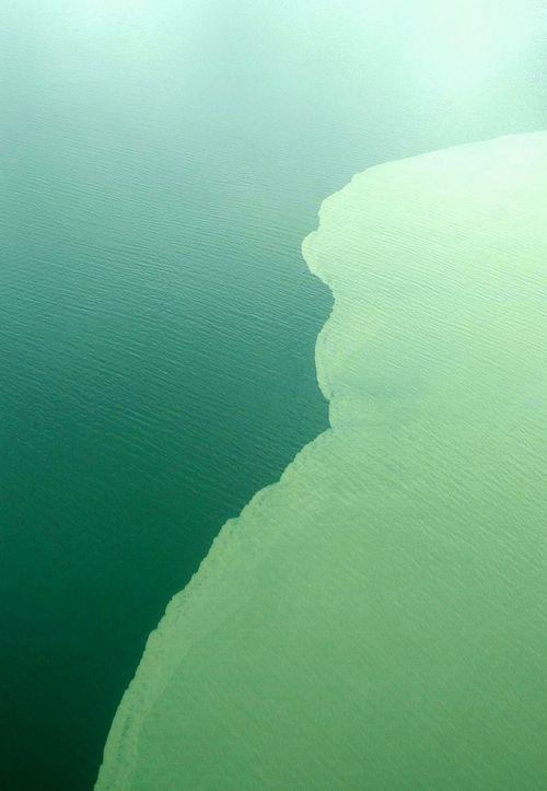 two bodies of water meet in alaska