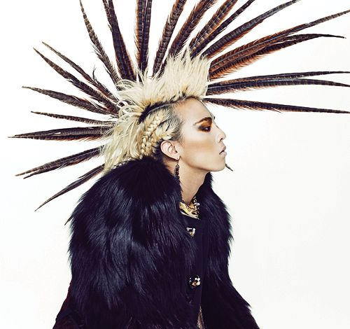 This super image heavy post has been...   UPDATED: G-Dragon for Vogue Korea '09    Click for tons more + a BTS vid.