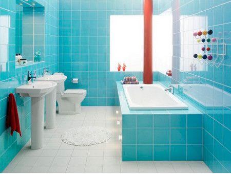 бирюзовая ванная фото - Поиск в Google