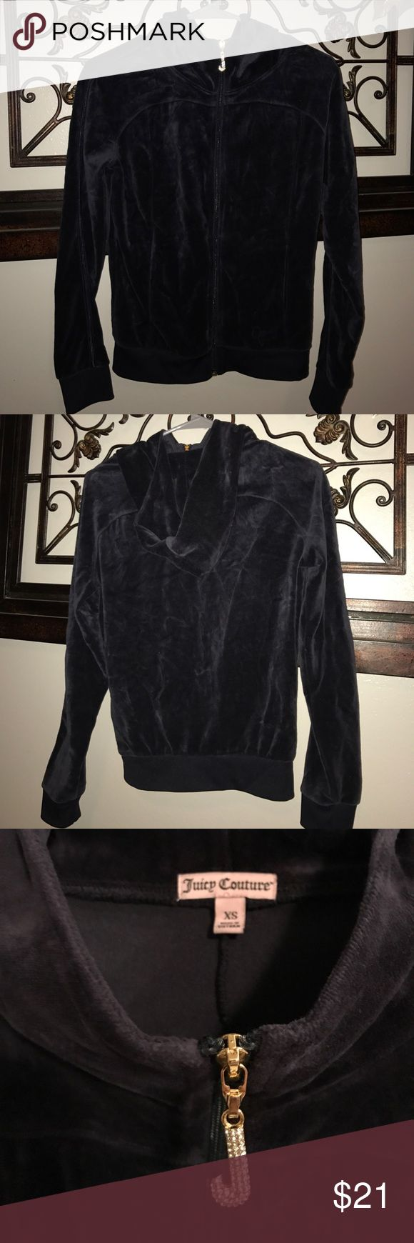 Juicy Couture Velour TrackSuit Hoodie size XS Juicy Couture Velour TrackSuit Hoodie size XS. Juicy Couture Tops Sweatshirts & Hoodies