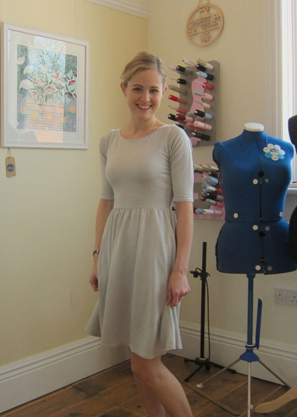 New Colette Patterns and My Completed Moneta Dress | Guthrie & Ghani...looks so comfy!