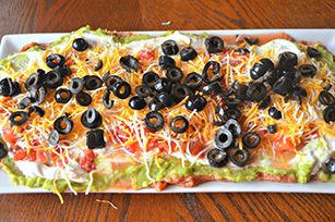 VELVEETA 7 Layer Mexican Dip Recipe - Kraft Recipes