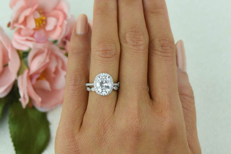 band simulants bridal ring made silver engagement anniversary round man sterling diamond eternity rings full wedding media ctw
