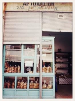 Bäckerei in Rethymno, Kreta (Crete)