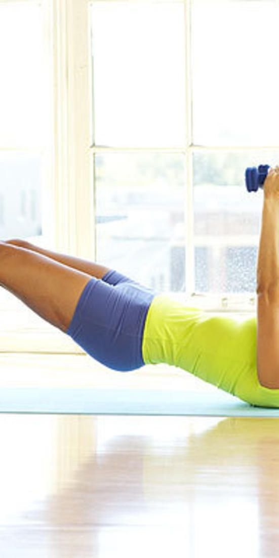Time-crunch workout solutions  - Try this total-body routine to shrink a size in a month