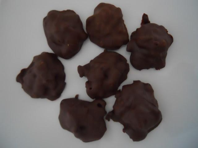 Cioccolatini alle mandorle croccanti