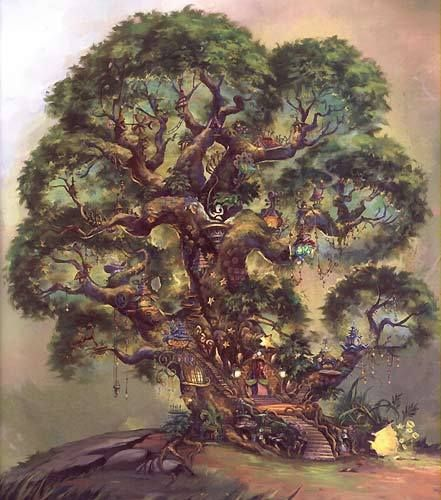 Image detail for -Disney Fairies The Home Tree in Pixie Hollow