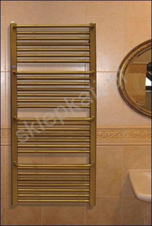 Ciekawe rozwiązanie do nowoczesnej łazienki- grzejnik łazienkowy dekoracyjny.