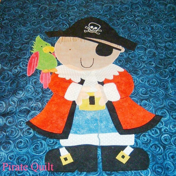 Personalised Custom Made Pirate Quilt