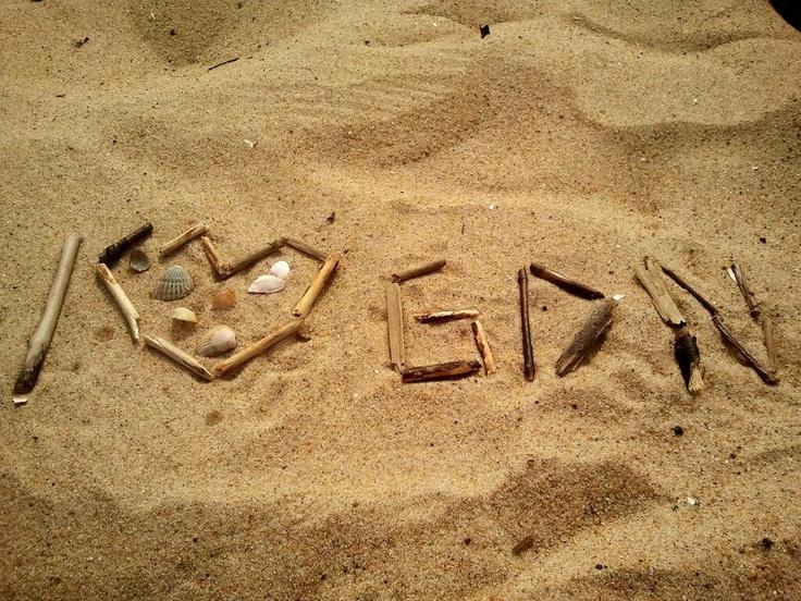 #ilovegdn #gdansk #contest #beach #sand