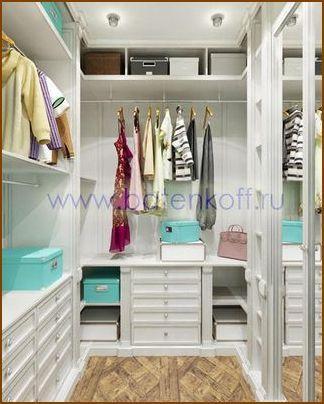 Гардеробные комнаты – дизайн проекты. Как составить дизайн проект