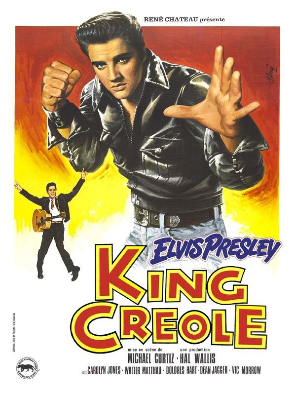 Elvis Presley - King Creole - French Poster - Mini Print A ...