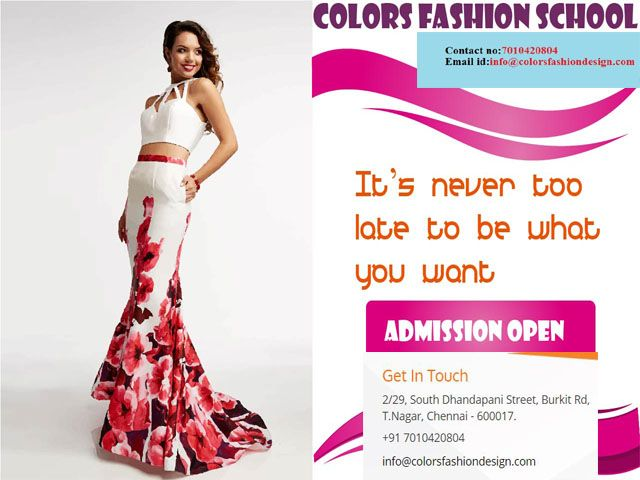 Colors Institute Of Fashion Technology Provides Diploma Undergraduate And Postgradu Fashion Designing Colleges Technology Fashion Fashion Designing Institute
