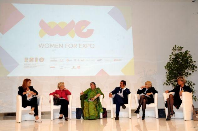 "#Women4Expo Una rete mondiale di donne per ""Nutrire il Pianeta"". #Expo2015 #IPM2013 WE-Women for Expo. A network of women from all over the world"