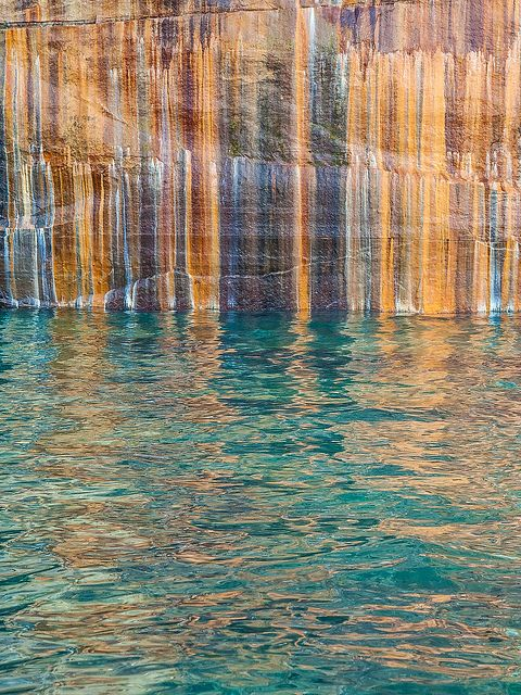 Pictured Rocks National Lakeshore, Michigan; photo by Ed Post
