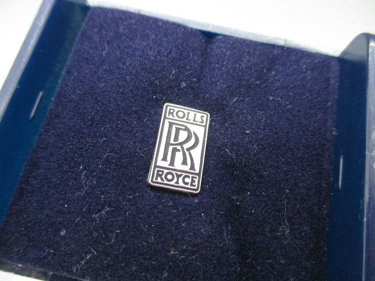 Rolls Royce Workers Pin Badge in Case