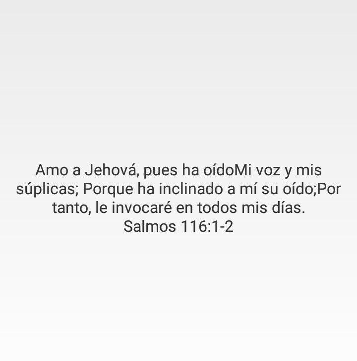 Amo a JEHOVÁ, DIOS