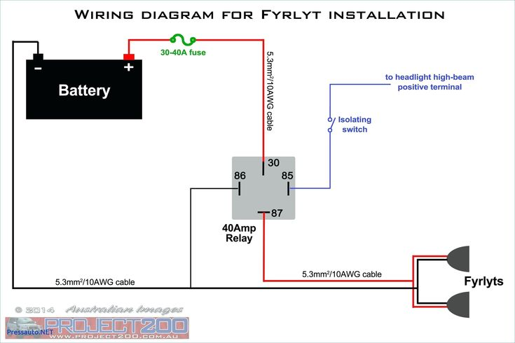 12v 5 pin relay wiring diagram driving lights how to wire. Black Bedroom Furniture Sets. Home Design Ideas