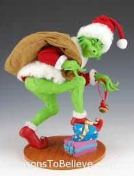 pictures of the grinch figurines - Google Search
