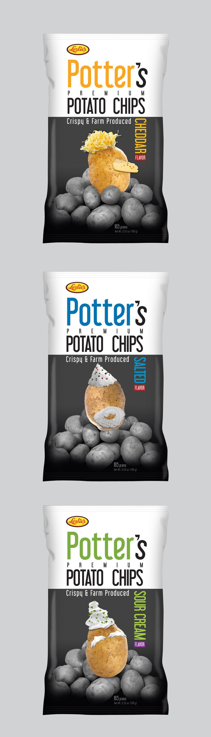 Potato chips packaging design concept that never made it to the shelves. a 2011 concept that I like until now. PD