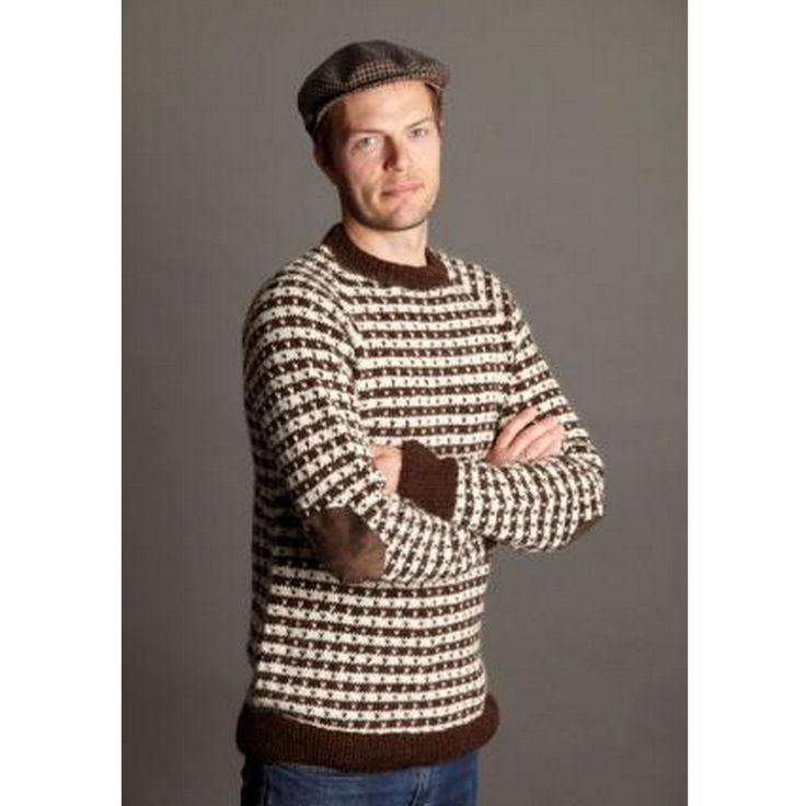 093 Klassisk herresweater med lus fra CaMaRose - Køb Klassisk herresweater fra CaMaRose her