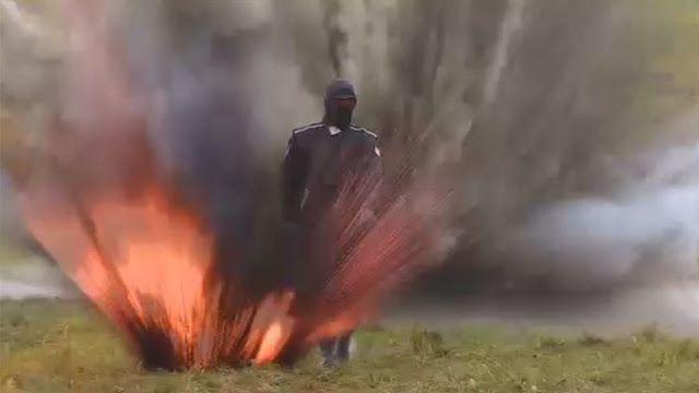 Πρωτοποριακή  πανοπλία..... Ελέγχοντας το κοστούμι θωράκισης (VIDEO)