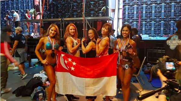 Super Star Singapore Team Wins Big at the Prestigious Olympia Amateur Asia – SFBF