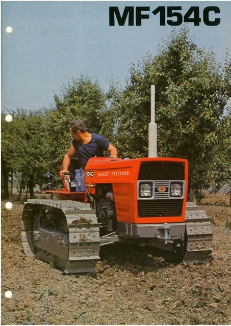 Massey Ferguson Crawler Tractor 154C