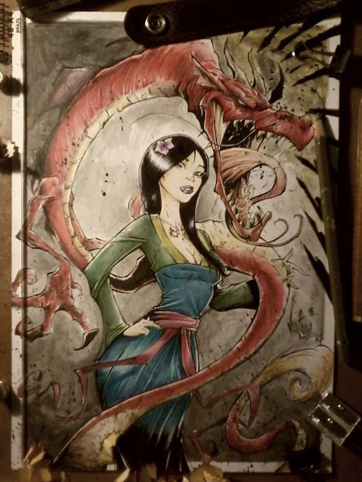 Mulan by Ventura Art Book