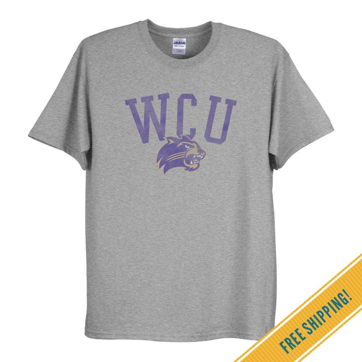 Western Carolina University Classic Tee in Sport Gray | Fan Gear and Apparel | OCM.com