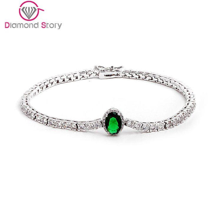 Teemi 4 Colors Option Bracelet! Single Row Tiny Clear Round AAA Zircon Inlay Bracelets High Quality White Gold Plated for Women www.bernysjewels.com #bernysjewels #jewels #jewelry #nice #bags
