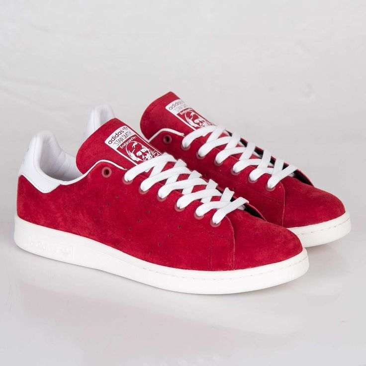 stan smith rouge daim homme