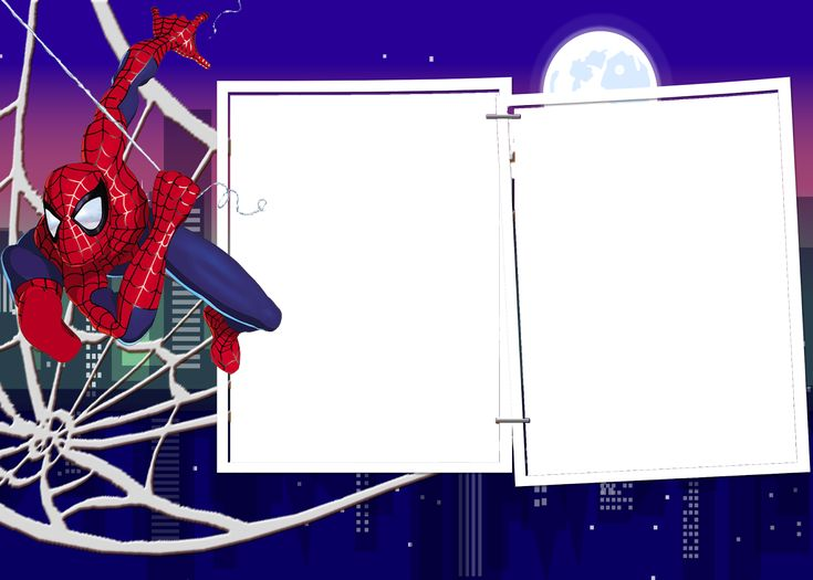 marcos spiderman png   recursos photoshop javi74