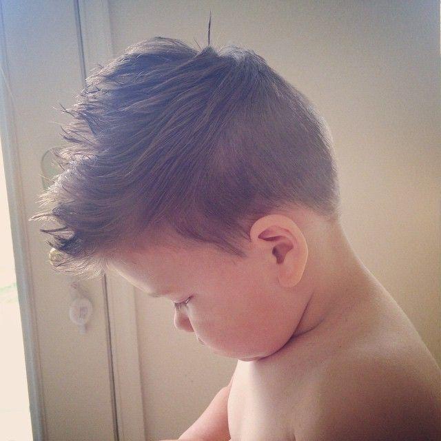 how to cut boy toddler hair