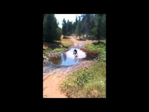 Water Crossing - 2006 Suzuki DR650SE