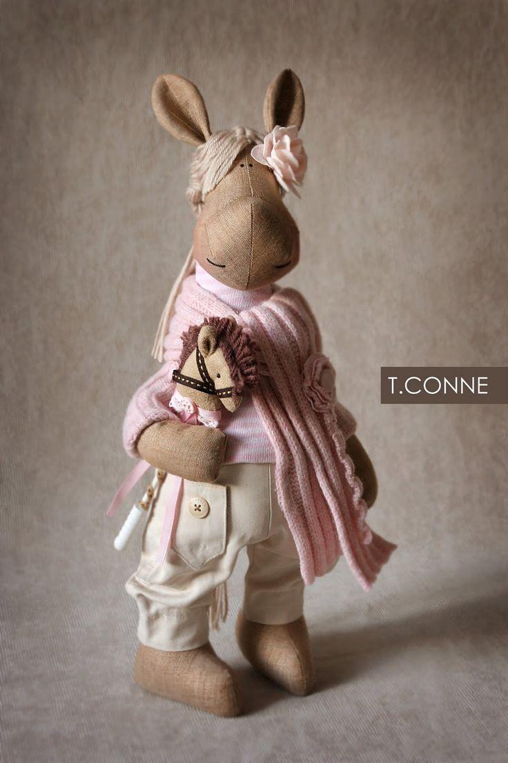 """Fabi"" Tatiana Conne handmade doll"