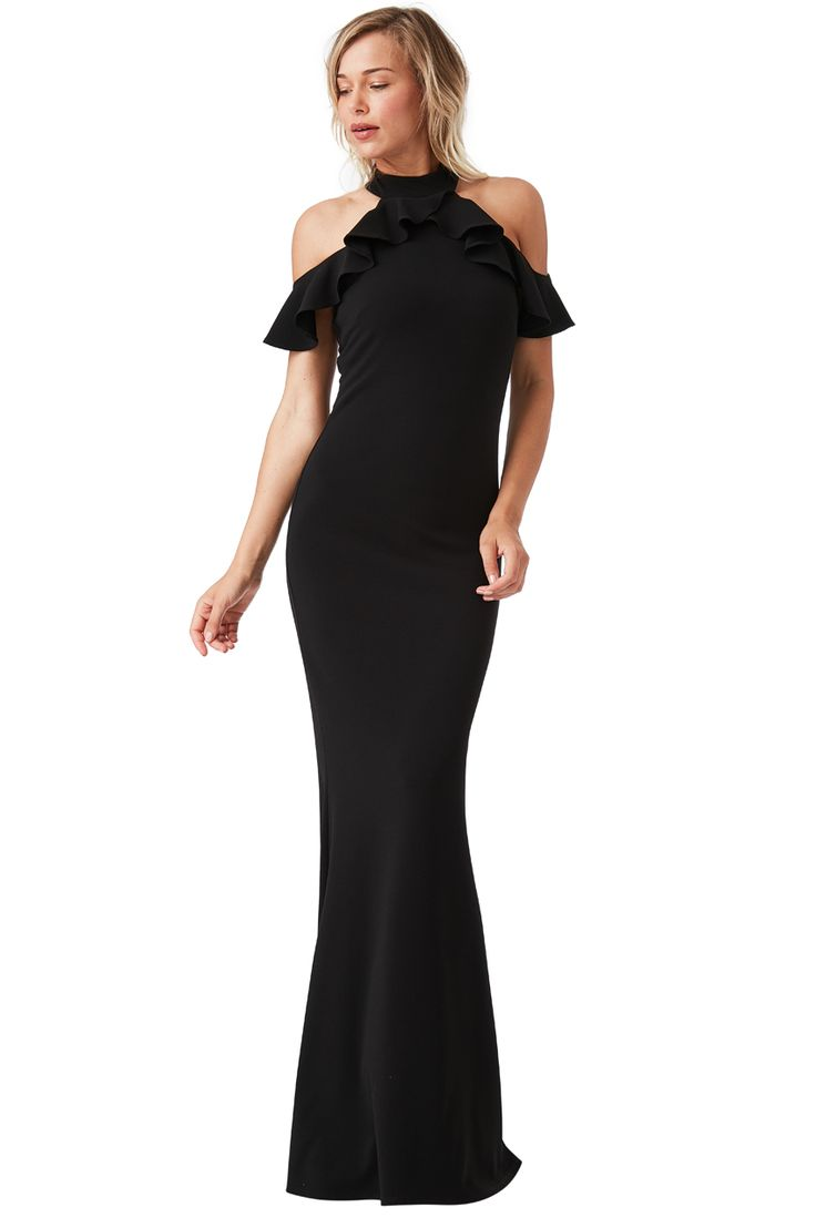 Treat yourself to your very own CUT OUT MAXI DRESS WITH FRILL DETAIL by visiting http://www.citygoddess.co.uk/Wholesale-Cut-Out-Maxi-Dress-w… now in 6 colours. For more new styles visit http://www.citygoddess.co.uk/New-In