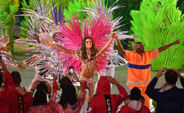 Cerimônia final, confusa e anticlimática, frustra TV - Olimpíada no Rio | Folha