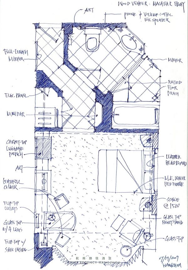 126 best Hotel plan images on Pinterest | Floor plans, Guest ...