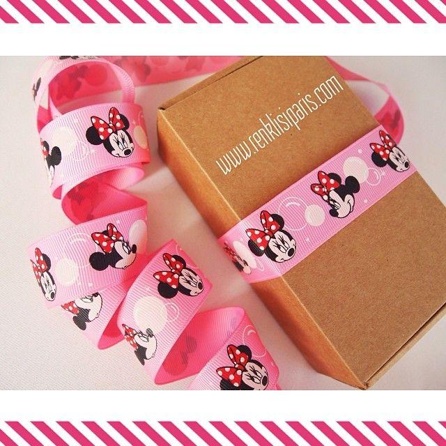 Pembe Minnie Mouse Grogren .. Diger tum modellerimiz icin   http://www.renklisiparis.com/minnie-mouse-pembe-grogren