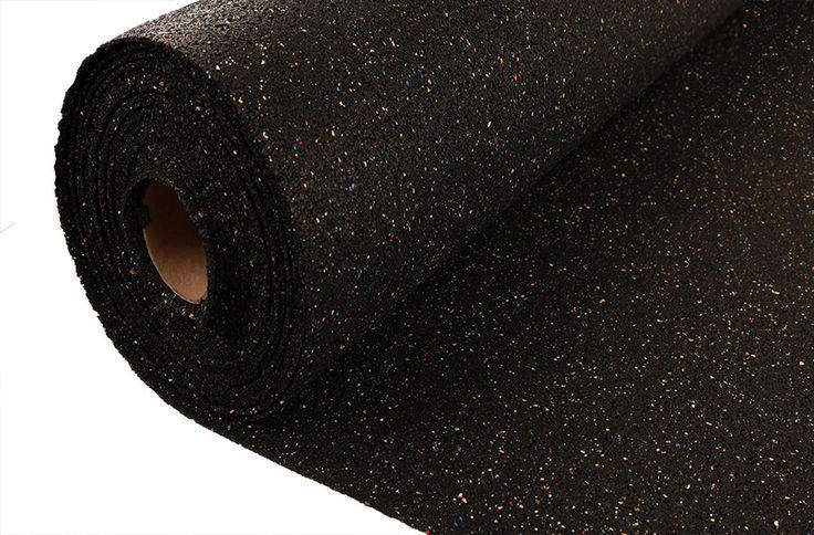 5mm Custom Cut Rubber Underlay - Acoustical Flooring Underlayment