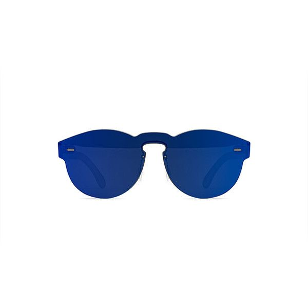 RETROSUPERFUTURE Super Tuttolente Paloma Blue ($239) ❤ liked on Polyvore featuring accessories, eyewear, sunglasses, round sunglasses, women, mirror glasses, futuristic sunglasses, mirrored glasses, mirror lens sunglasses and mirrored lens sunglasses