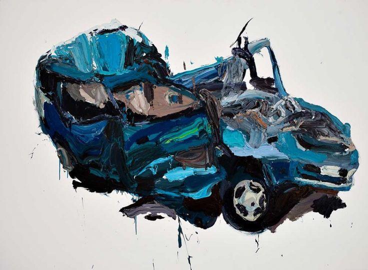 Ben Quilty - Crash Painting 2009