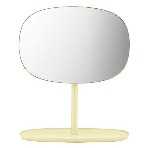 Flip mirror, yellow